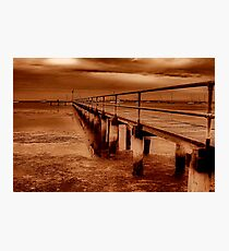 """""""Griffins Gully Jetty"""" Photographic Print"""