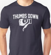 Thumbs Down Baseball Celebration T-Shirt T-Shirt