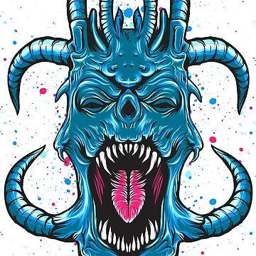 THE BLUE DEVIL by masirul