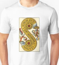 Two Of Coins Tarot Card Unisex T-Shirt
