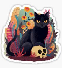 Fall kitty Sticker