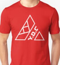 Red T-shirt - White Print  T-Shirt