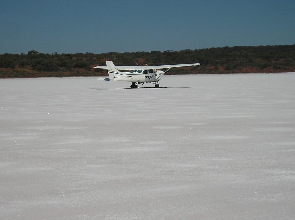salt plane by Samoore