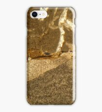 Thin section of Triassic carbonate under the microscope iPhone Case/Skin