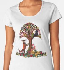 fox and crow Women's Premium T-Shirt