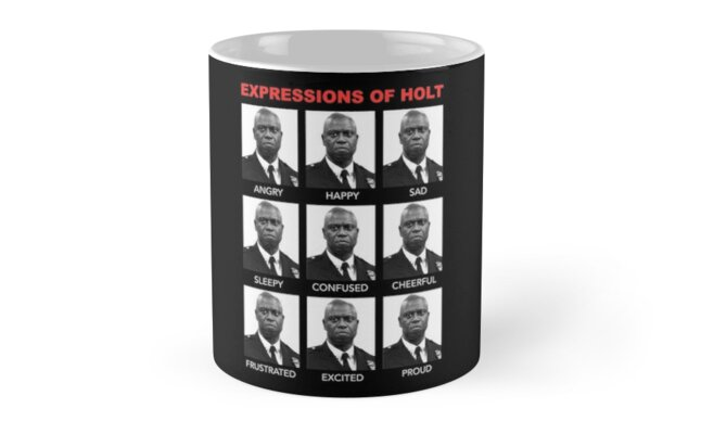 Expressions of Holt by AngelaFV