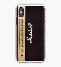 Vinilo o funda para iPhone Marshall Guitar Double Amplifier