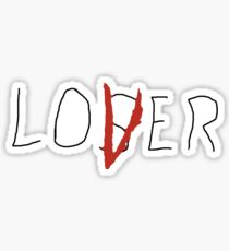 Stephen King's It The Losers Club Loser / Lover  Sticker