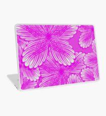 Pink Hydrangea Floral Laptop Skin