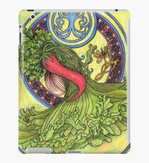 Art nouveau. Spices and vegetables iPad Case/Skin
