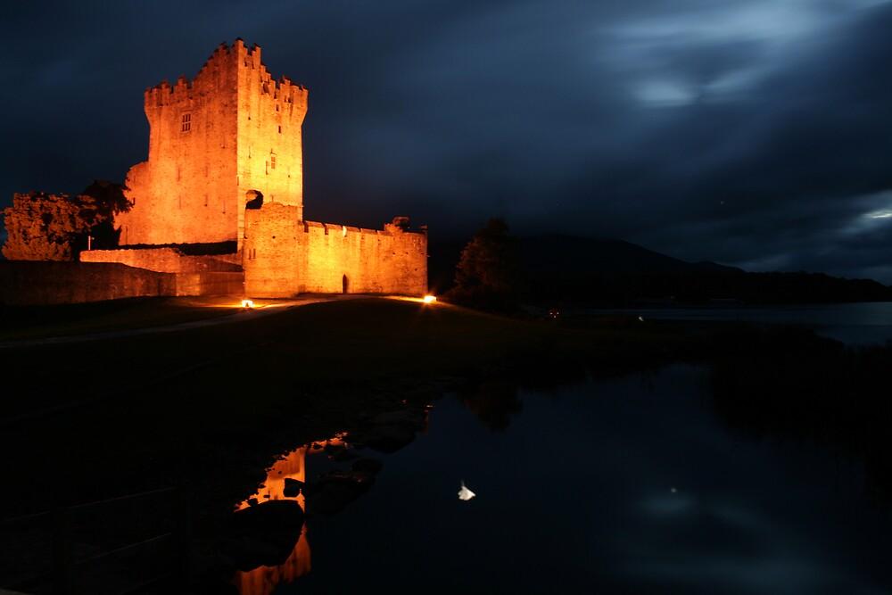 Night at Ross Castle by John Quinn
