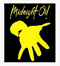 midnight oil Photographic Print