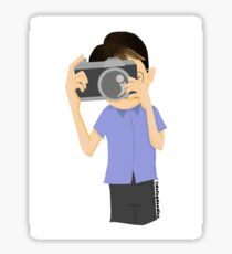 photographer Sticker