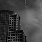Downtown Toronto Fogfest No 7 by Brian Carson