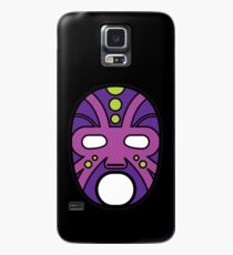 """""""Lucha Libre"""" (Free Fight) Mexican Wrestling Mask Purple Case/Skin for Samsung Galaxy"""