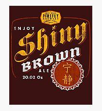 Shiiny Brown Ale Photographic Print