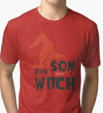 Son of witch Tri-blend T-Shirt