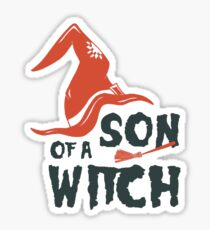 Son of witch Sticker