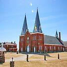Our Lady Mont Carmel - Notre-dame-du-Mont-Carmel by AnnDixon