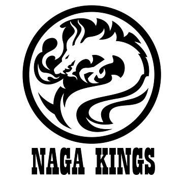 Naga Kings Dragon Circle by NomadicMarket