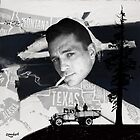 Jack Kerouac | On the Road | Digital Collage by zmudart
