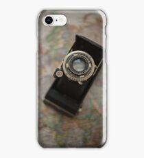 Map and camera iPhone Case/Skin