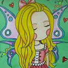 Cara and her Caterpillars By Michelle by SassyColouring