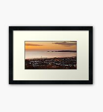 Swansea bay south Wales Framed Print