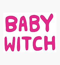 BoJack Horseman – Baby witch Photographic Print