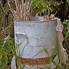 Vintage Garden Bin by Jen Waltmon