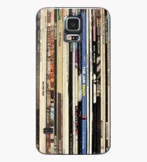 Classic Rock Vinyl Records  Case/Skin for Samsung Galaxy