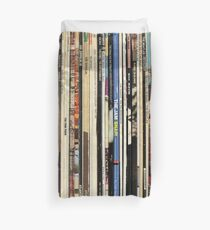 Classic Rock Vinyl Records  Duvet Cover