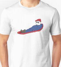 Sledding Unisex T-Shirt