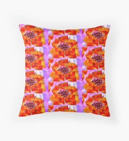 Glowing Hydrangea Throw Pillow