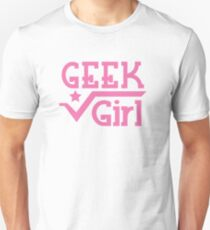 Geek Girl with pi Unisex T-Shirt