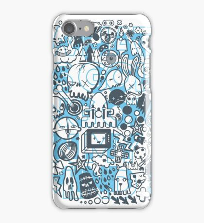 What is going on in my mind! iPhone Case/Skin