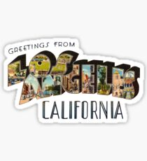 Greetings from Los Angeles, California 1 Sticker