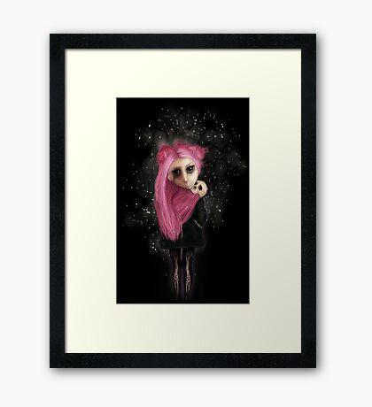 My dark being Framed Print