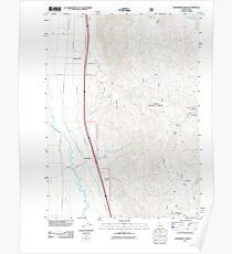 USGS TOPO Map Idaho ID Henderson Creek 20110617 TM Poster