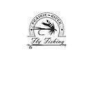 Prairie River Fly Fishing - Black by bigfatdesigns