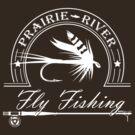 Prairie River Fly Fishing - White by bigfatdesigns