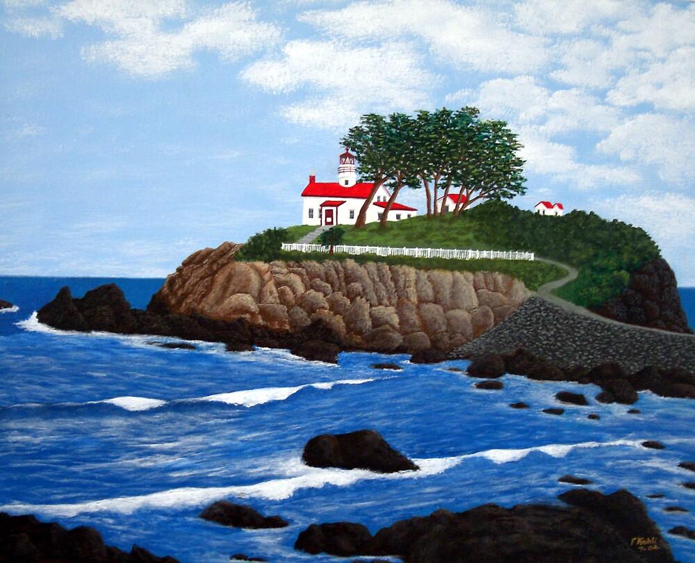Battery Point Lighthouse by fbkohli