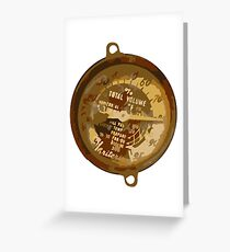 Gauge Greeting Card