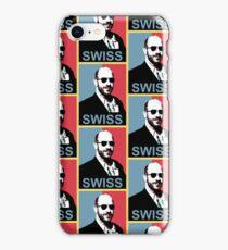 Swiss 4 President iPhone Case/Skin