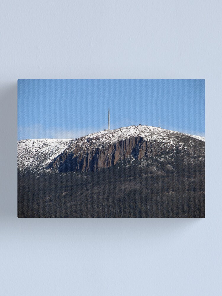 Alternate view of 'The Mountain' Canvas Print
