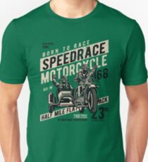 Motorcycle Speed Race Retro Vintage T-Shirt
