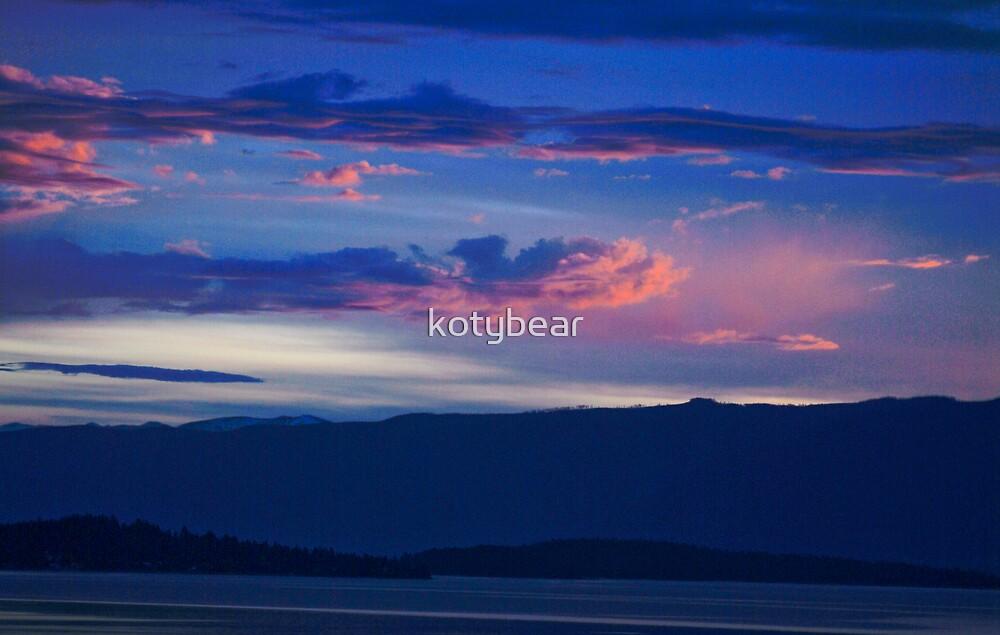Flathead Sunrise by kotybear