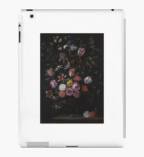 1650 Still Life with tulips, carnations, irises and other flowers in a vase by Jan Breughel the Younger iPad Case/Skin