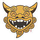 Smiling Shisa by 73553