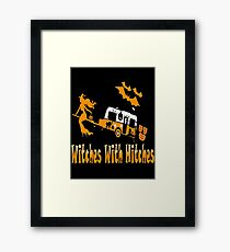 Witches-  Hitches Halloween costume Framed Print
